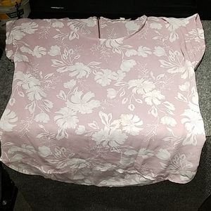 Pink Rose sleeveless top size small